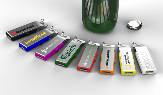 USB Bottle Openers