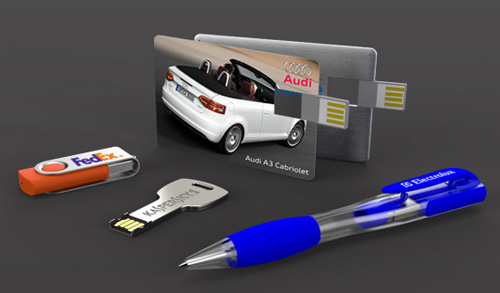 an image of Logo USB Flash Drives for lead generation